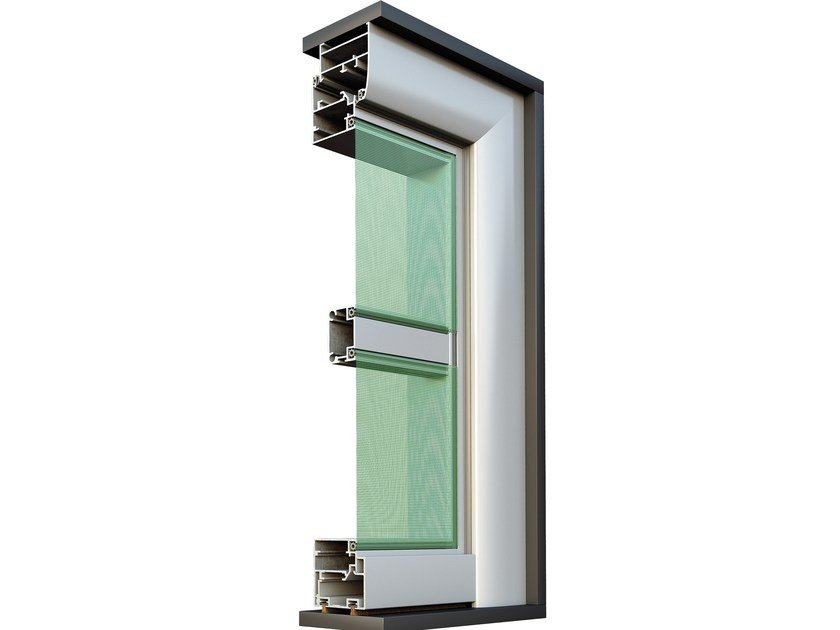 Insect screen SMARTIA M850 by Alumil