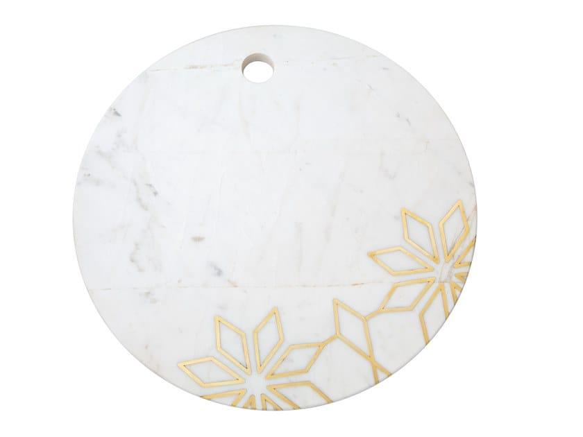 Tagliere rotondo in marmo INTARSIO GEOMETRY   Tagliere by Orvi