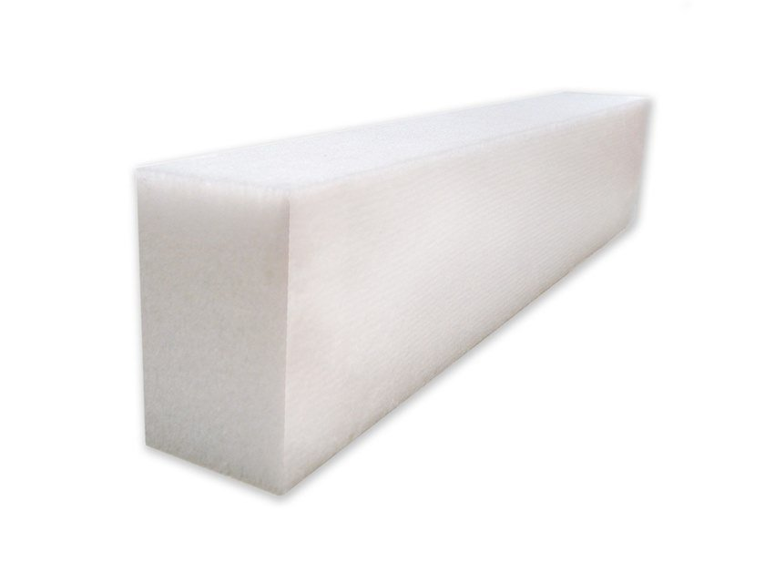 Polyester fibre ceiling tiles / sound insulation felt Isolmant Acoustic cavity barrier by Isolmant