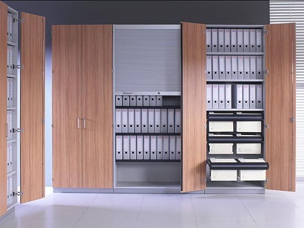 Mobile ufficio modulare con ante a battente J_SYSTEM | Mobile ufficio con ante a battente by BALMA