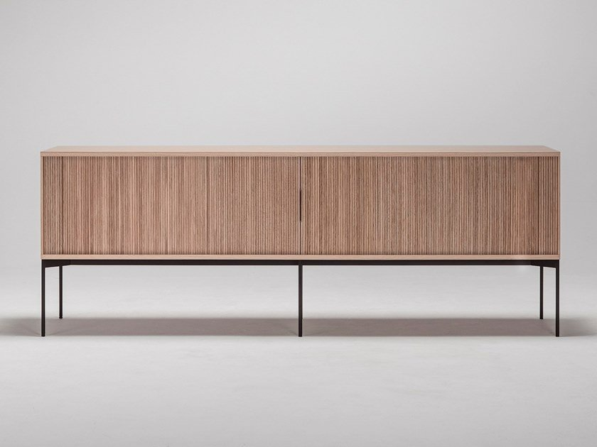 Wooden sideboard JABARA by Ritzwell & Co.