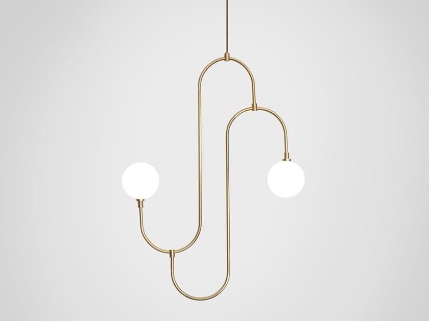 LED pendant lamp JACK AND JILL by Marc Wood Studio