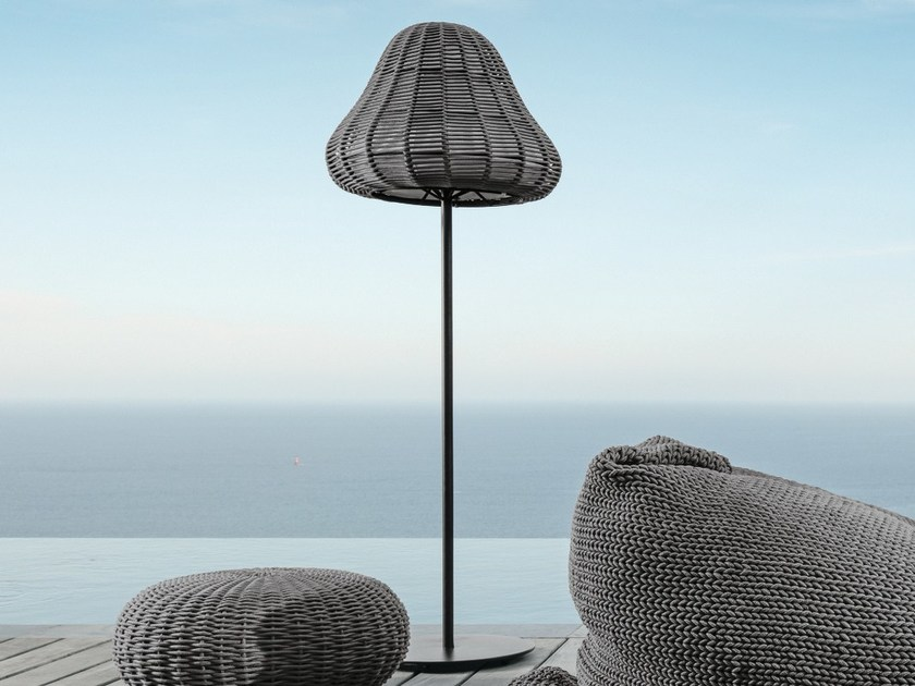 shade lamp nautical floor product tall lighting standing rope with