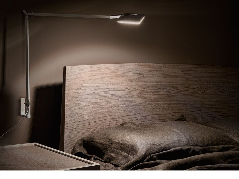 LED wall lamp with dimmer JACKIE IOT | Adjustable wall lamp by PANZERI