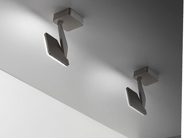 LED adjustable ceiling spotlight JACKIE | Ceiling spotlight by PANZERI