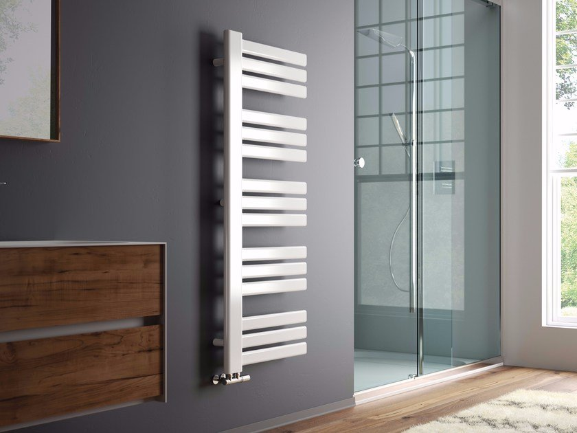 Hot-water wall-mounted towel warmer JACKY by CORDIVARI