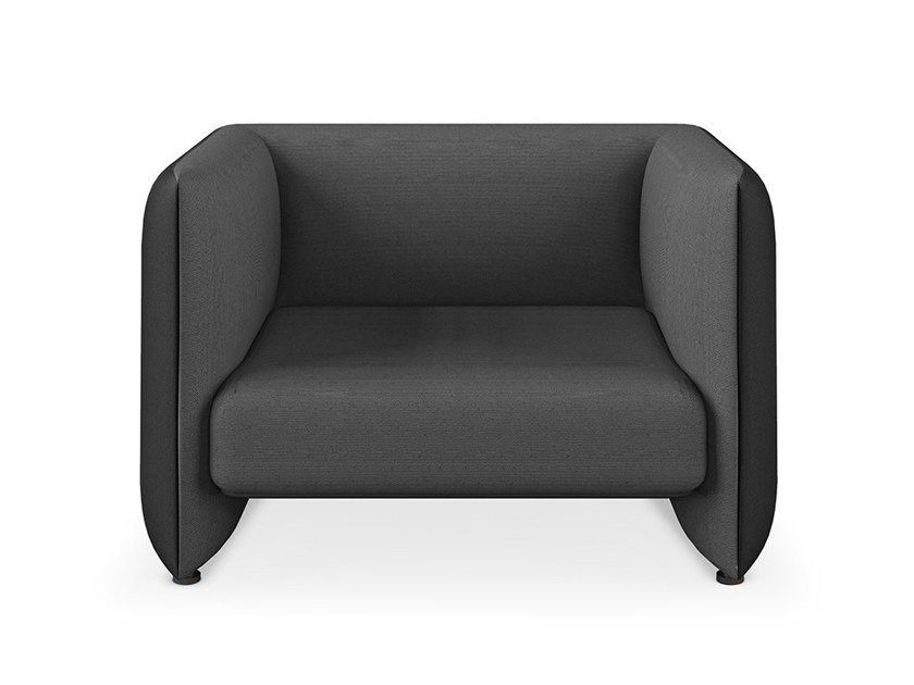 Upholstered fabric armchair JACOB   Armchair by Collector