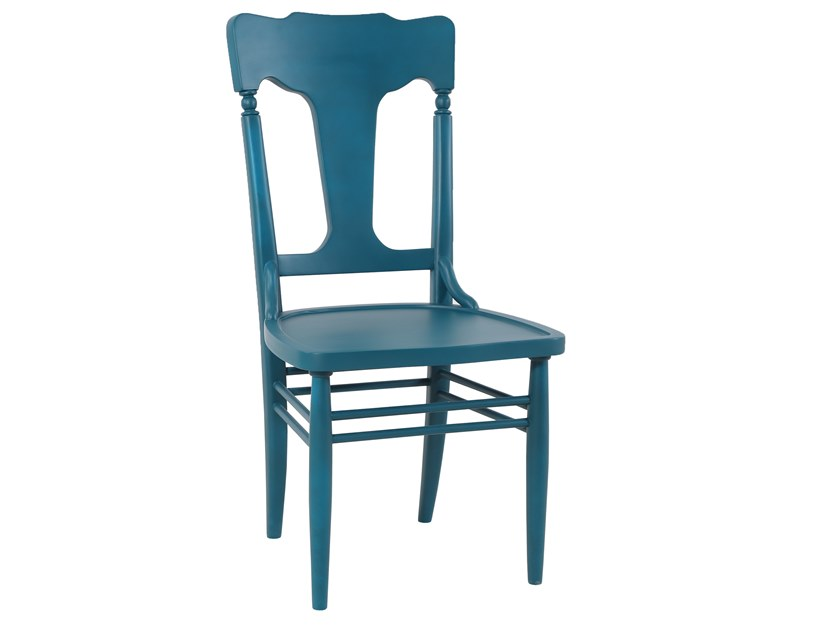Lacquered wooden chair JADI | Lacquered chair by ALANKARAM