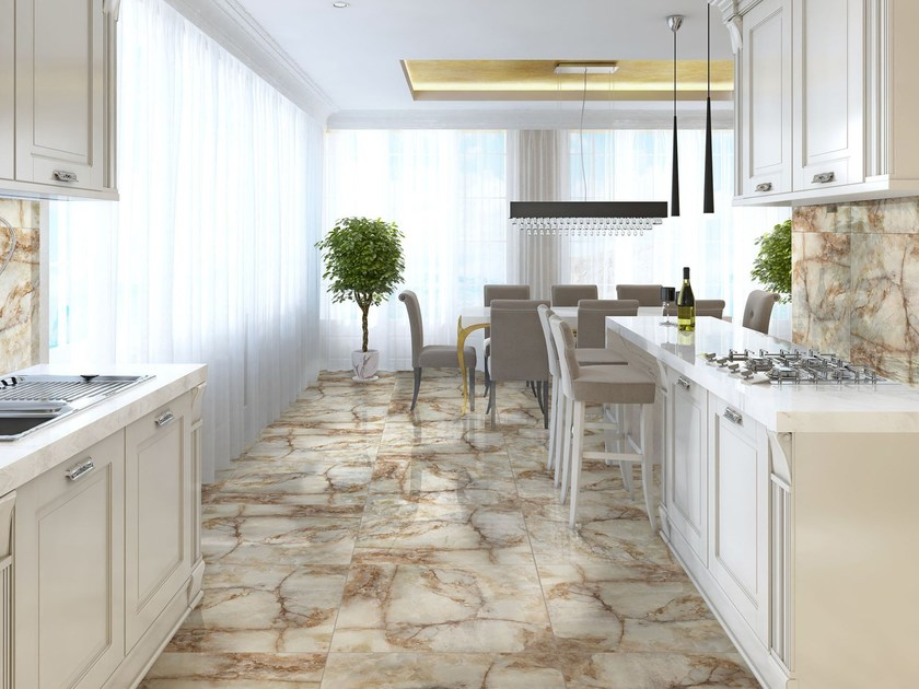 Wall/floor tiles with marble effect JAIPUR by Absolut Keramika