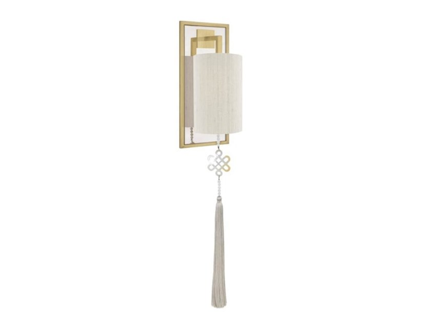 Indirect light brass wall lamp JAIPUR by FRATO