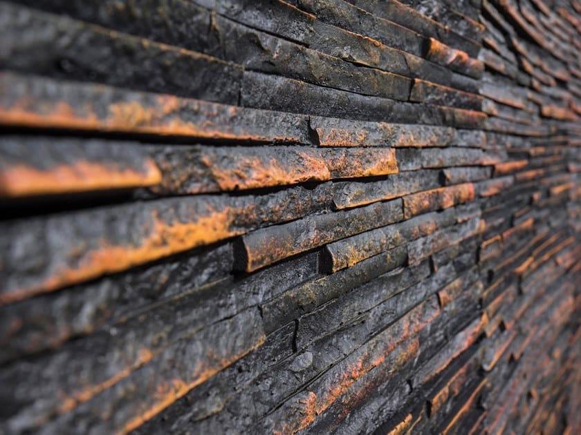 Rivestimento tridimensionale in fibra di vetro effetto pietra per interni/esterni JAKARTA by Artstone Panel Systems