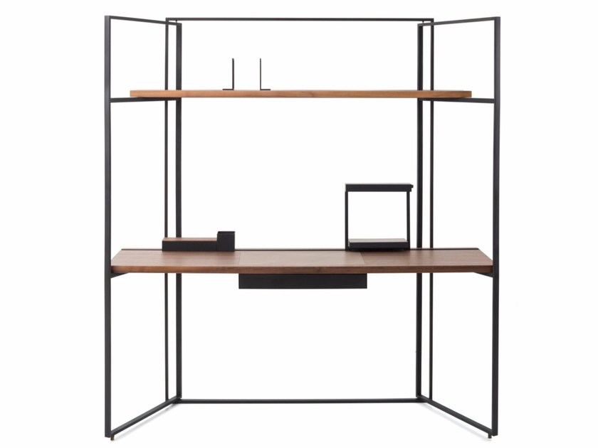 Wooden secretary desk DESK by STELLAR WORKS