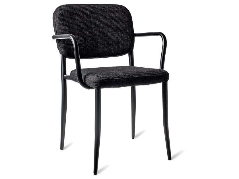 Fabric chair with fire retardant padding JAMIE by Pols Potten