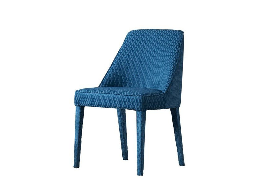 Upholstered velvet chair JANE by Chaarme Letti