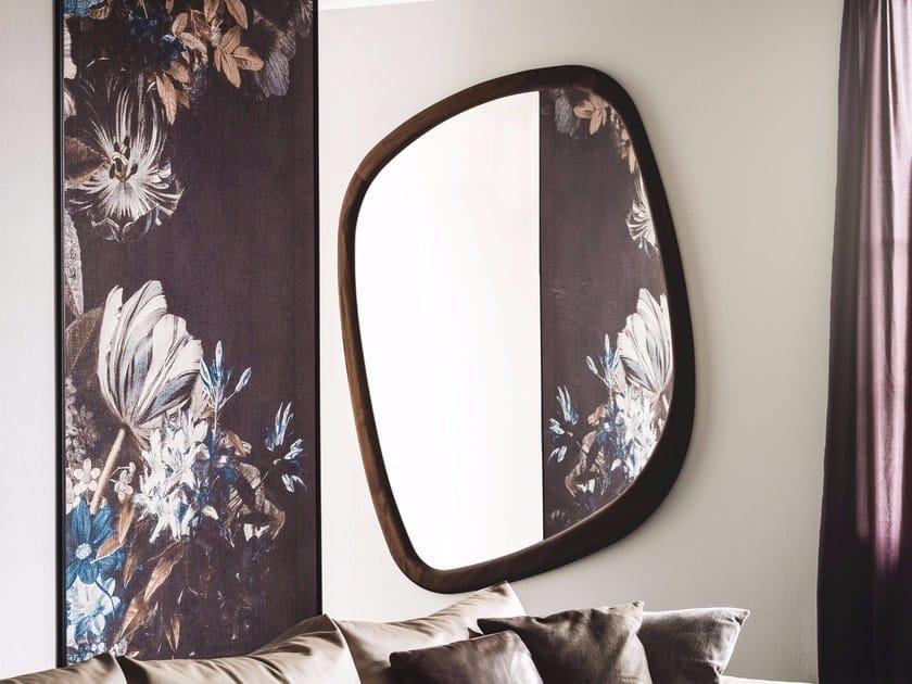 Wall-mounted framed mirror JANEIRO by Cattelan Italia
