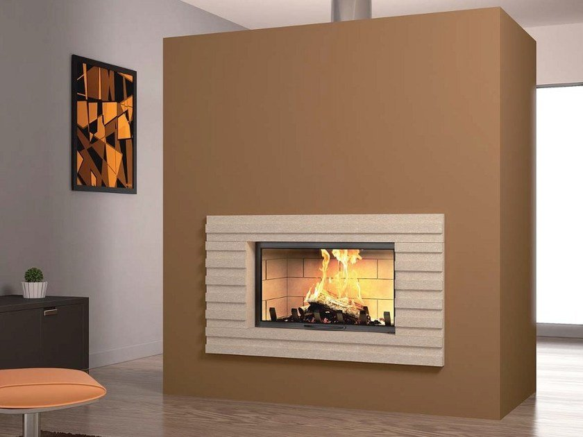Stone Fireplace Mantel JANNA by Axis