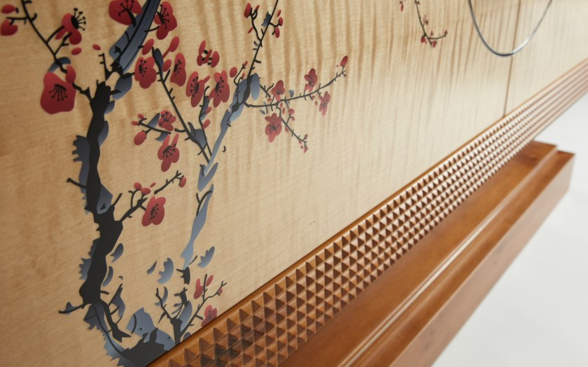 Madia Ante Battente Chest Con A Nouvel Drawers Japanese Of Espace hdBsrxtQCo