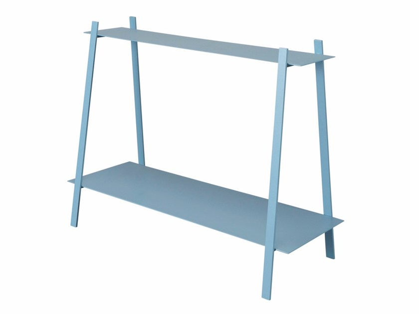 Rectangular steel console table JARED by AZEA