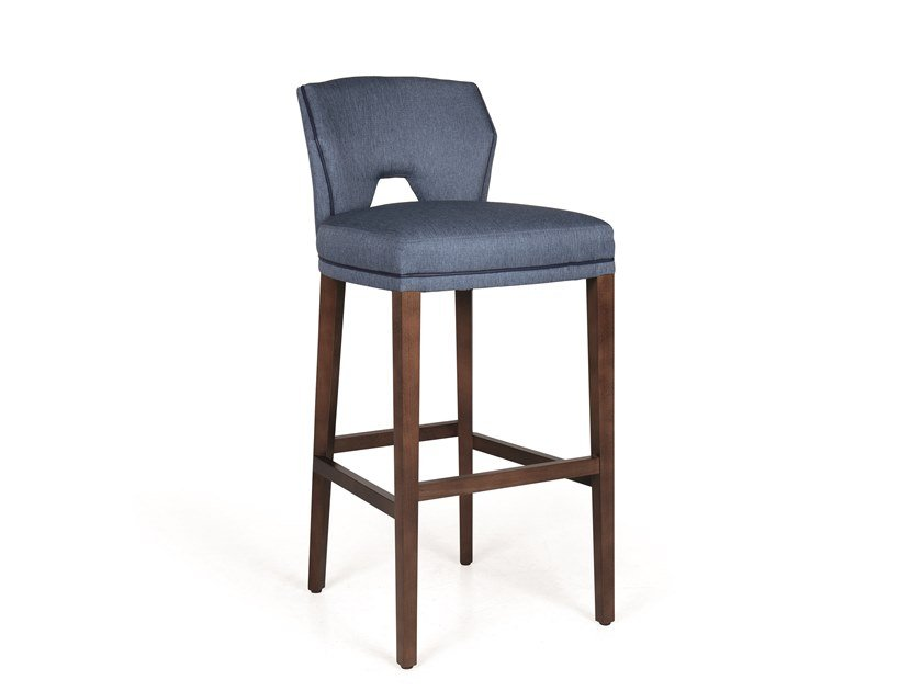Upholstered barstool JASPER BAR by Fenabel