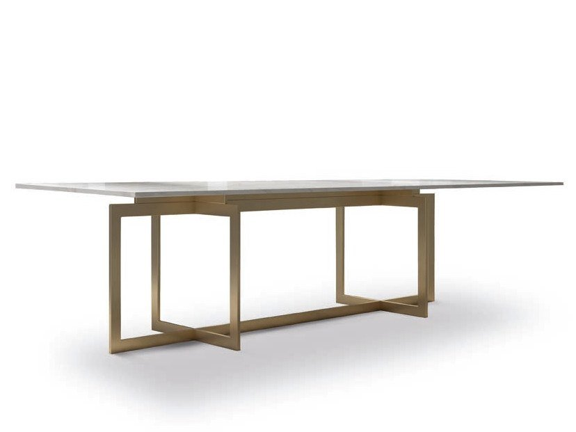 Rectangular dining table JAZZ - 800301 | Dining table by Grilli