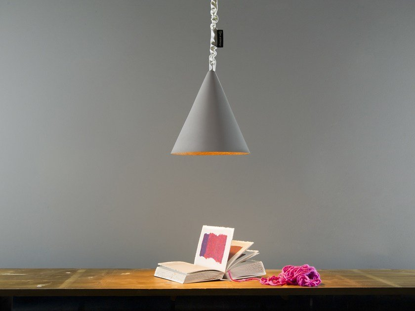 Pendant lamp JAZZ CEMENTO | Pendant lamp by In-es.artdesign