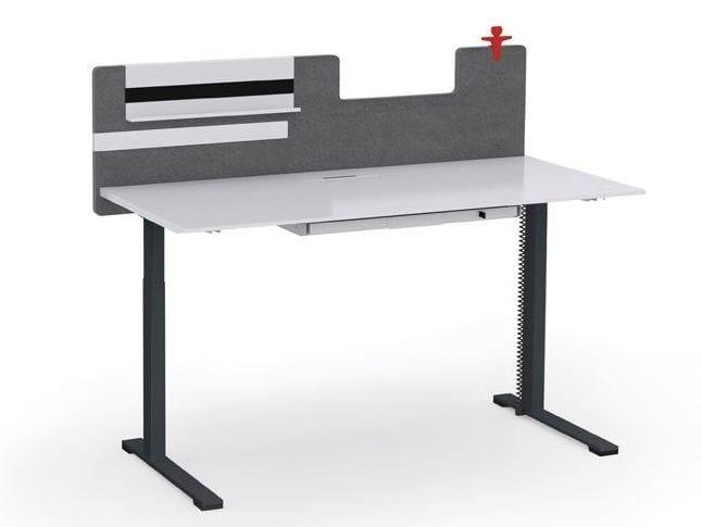 Height Adjustable Rectangular Workstation Desk JAZZ | Office Desk By  NARBUTAS