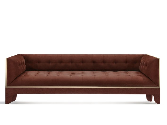 Tufted 3 seater sofa JAZZ | Tufted sofa by Duquesa & Malvada