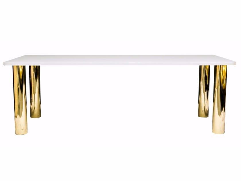 Aluminium table JAZZ by altreforme