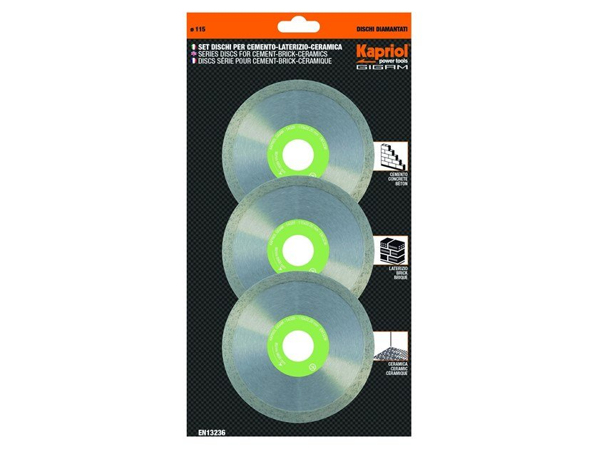 Discs JC 200 ZL 3 PCS by KAPRIOL