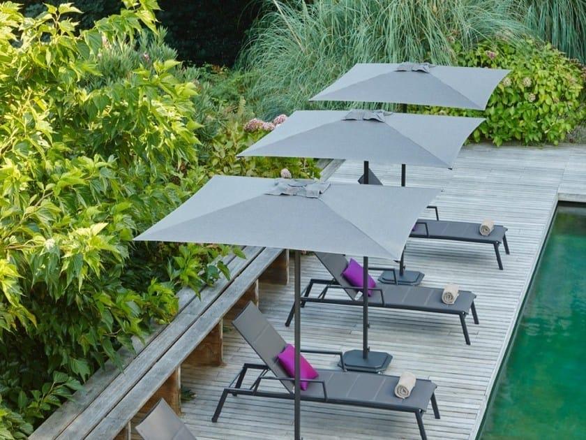 Square Sunbrella® Garden umbrella JCP.101 by Jardinico