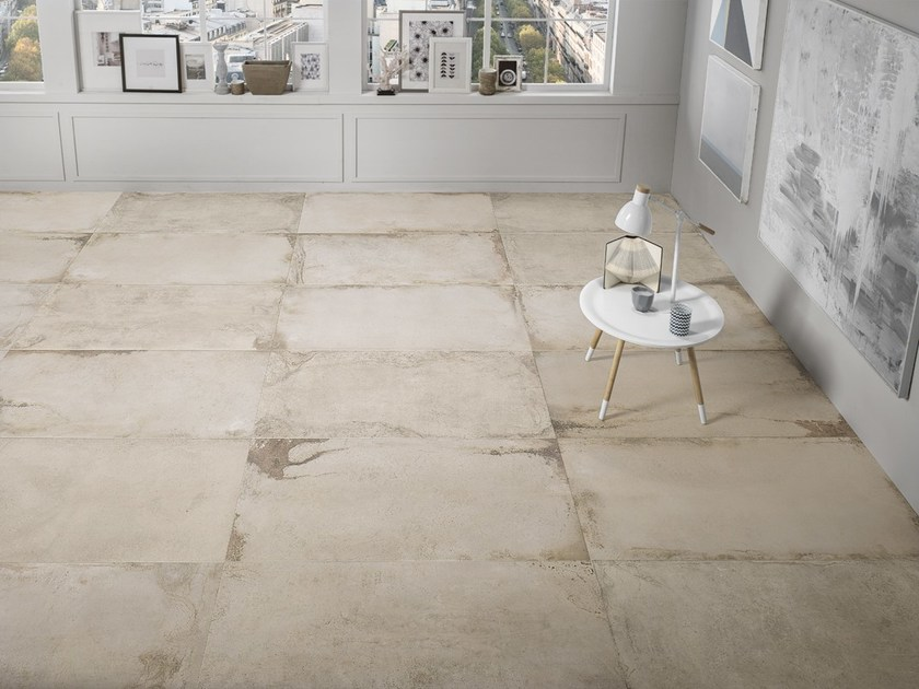 Porcelain stoneware flooring with stone effect LASCAUX JEITA LIVING by La Fabbrica