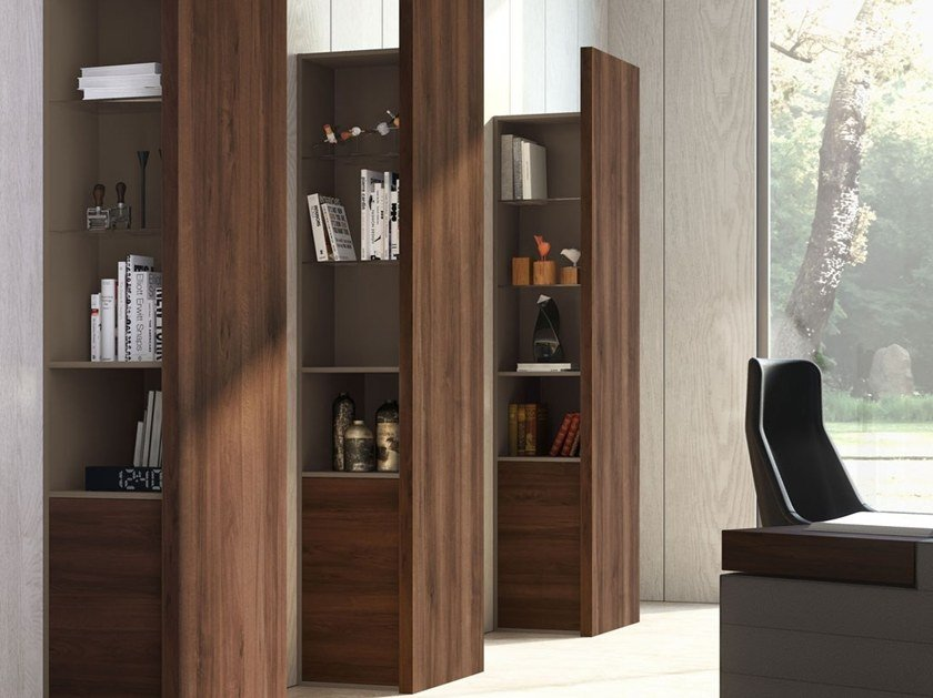Tall office shelving JERA | Office shelving by Las Mobili