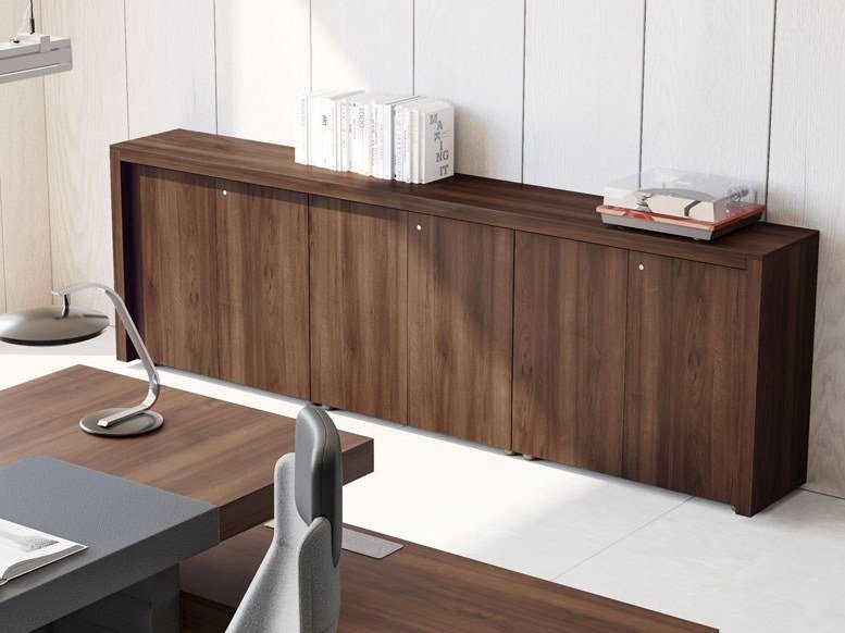 Office Storage Units Contemporary Style Unit With Hinged Doors Jera By Las