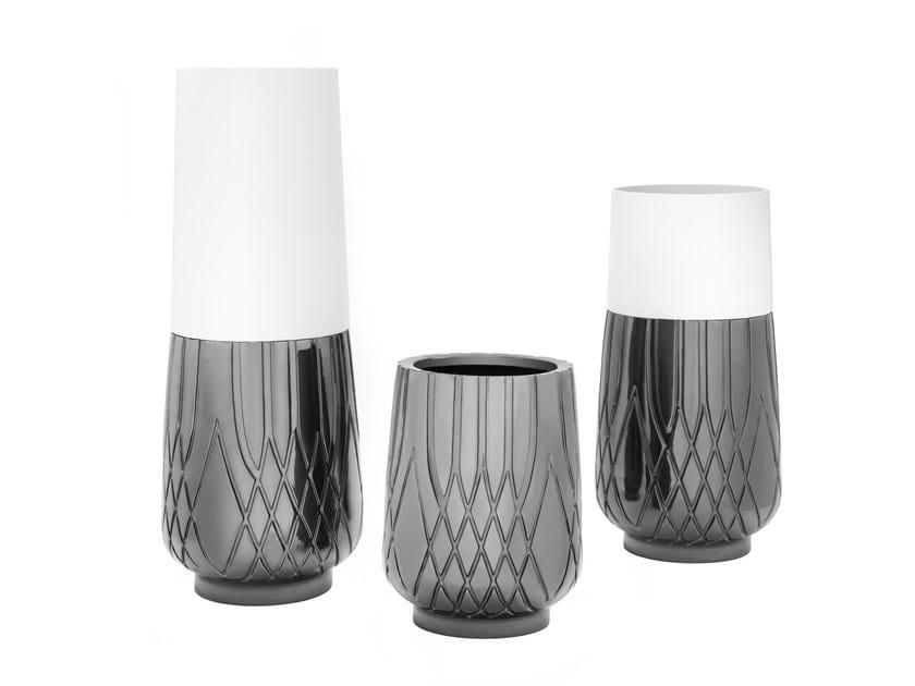 Ceramic vase JERSEY | Vase by Smania