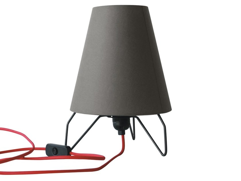 Fabric table lamp FARO | Table lamp by Adriani e Rossi edizioni