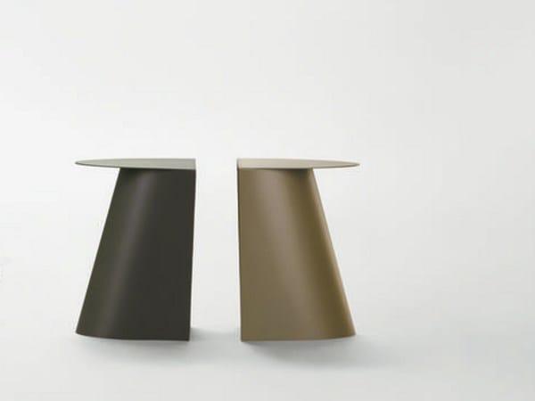 Sgabello tavolino in metallo jetset by da a design studio klass