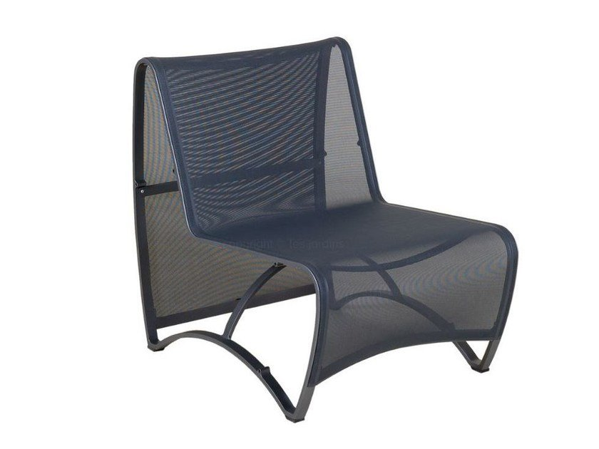 Sectional Batyline® Garden Armchair With Armrests JETSTREAM | Garden  Armchair By Les Jardins