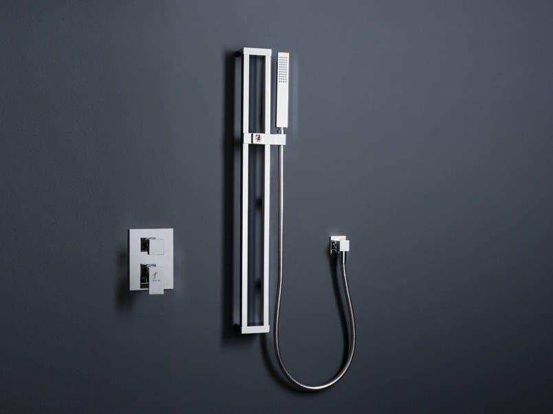 Brass shower wallbar with hand shower JETTO | Shower wallbar by tender rain