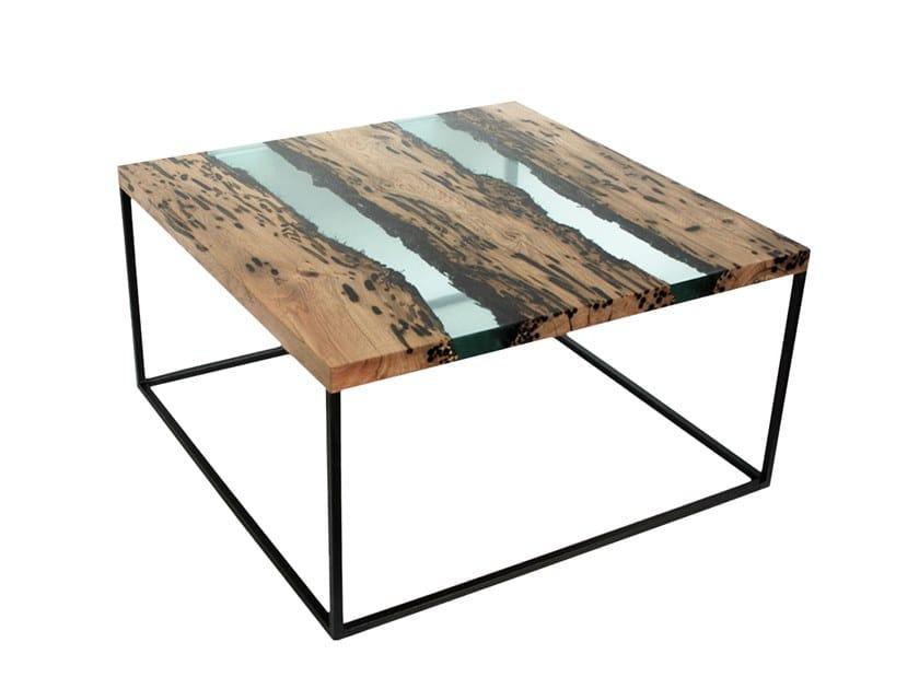 Tavolino da caffè quadrato JETTY by alcarol