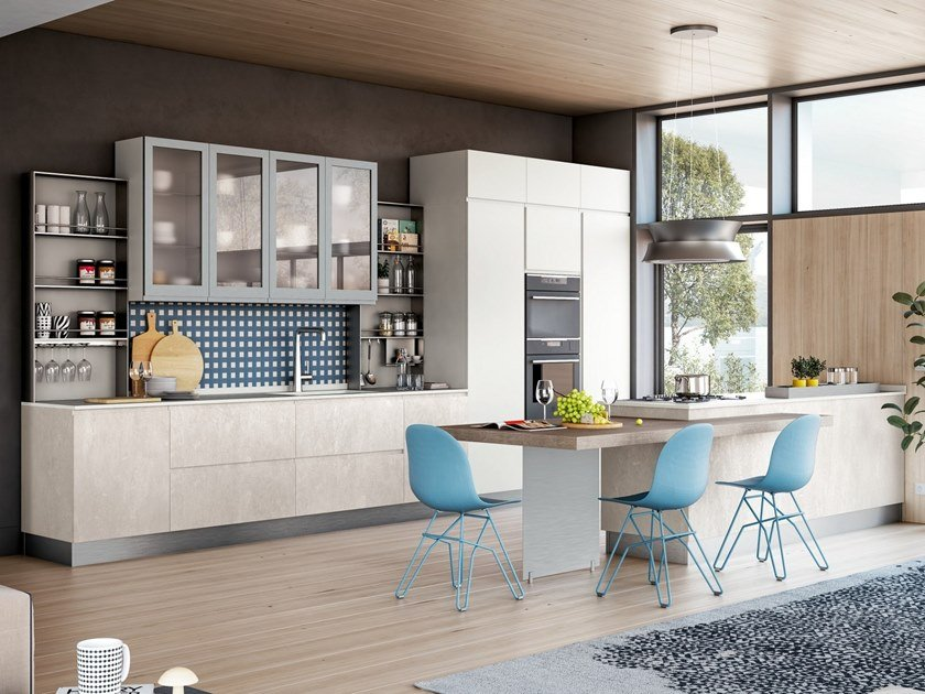 Jey Feel Cucina Con Isola By Creo Kitchens
