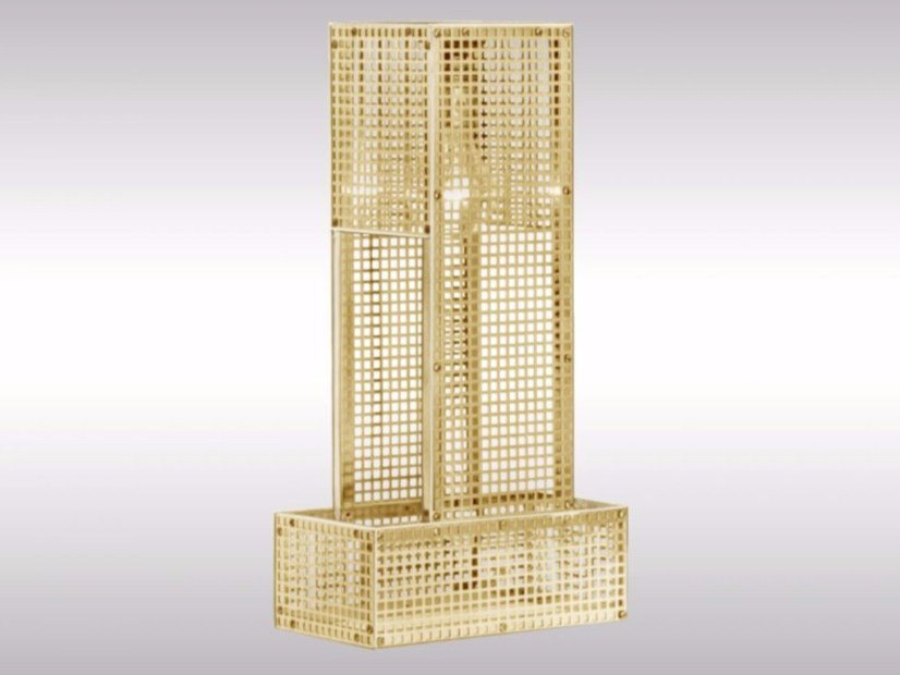 Brass table lamp JH7 | Table lamp by Woka Lamps Vienna