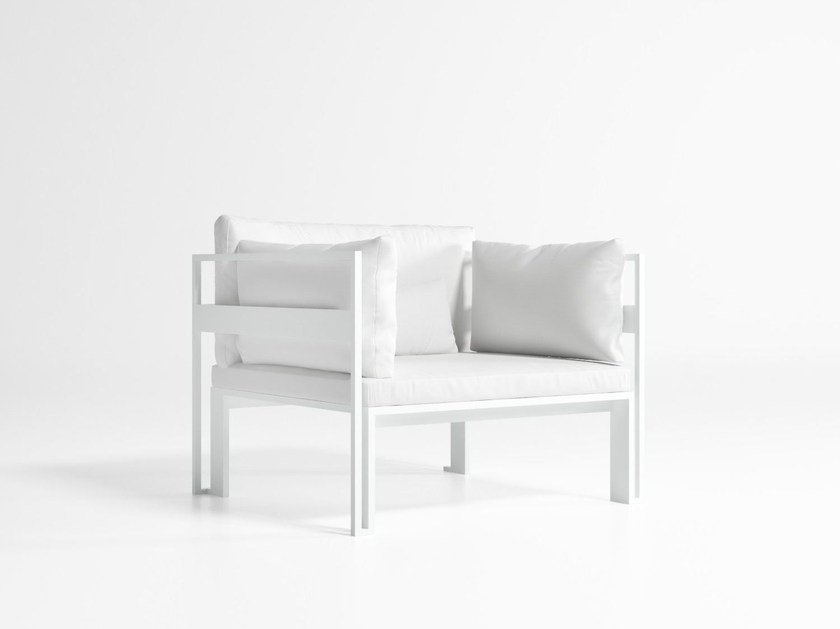 Garden armchair with armrests JIAN | Garden armchair by GANDIA BLASCO