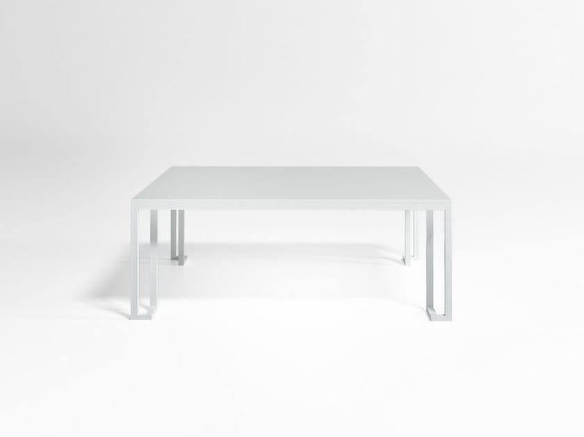 Quadrato Da In Blasco Alluminio Gandia JianTavolino Giardino Yb76gyf