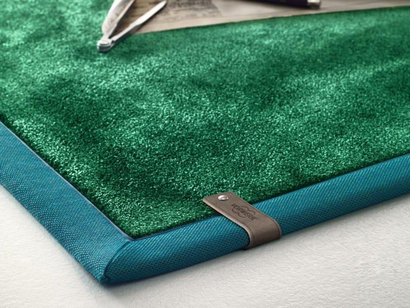 Solid-color rug JIM by Vorwerk Teppichwerke