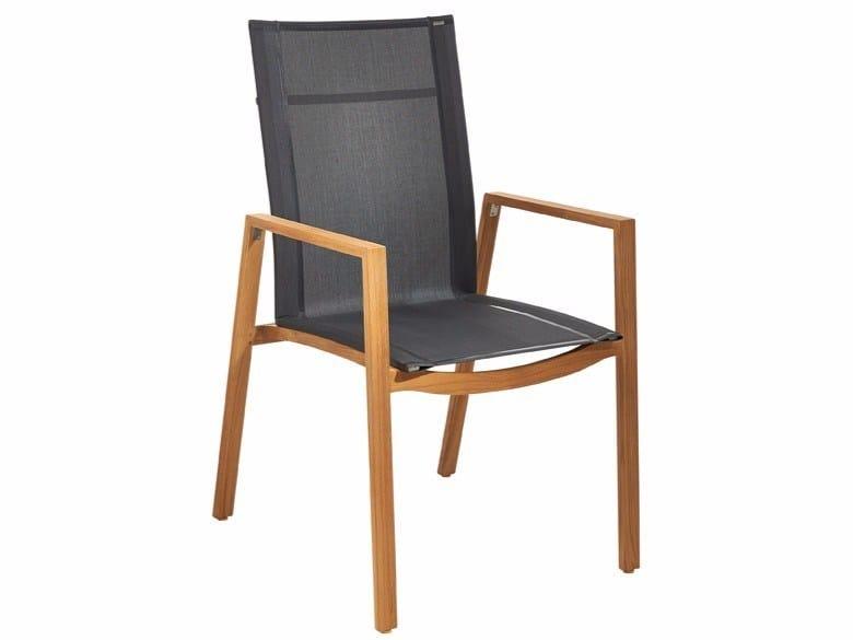 chaises de jardin en batyline
