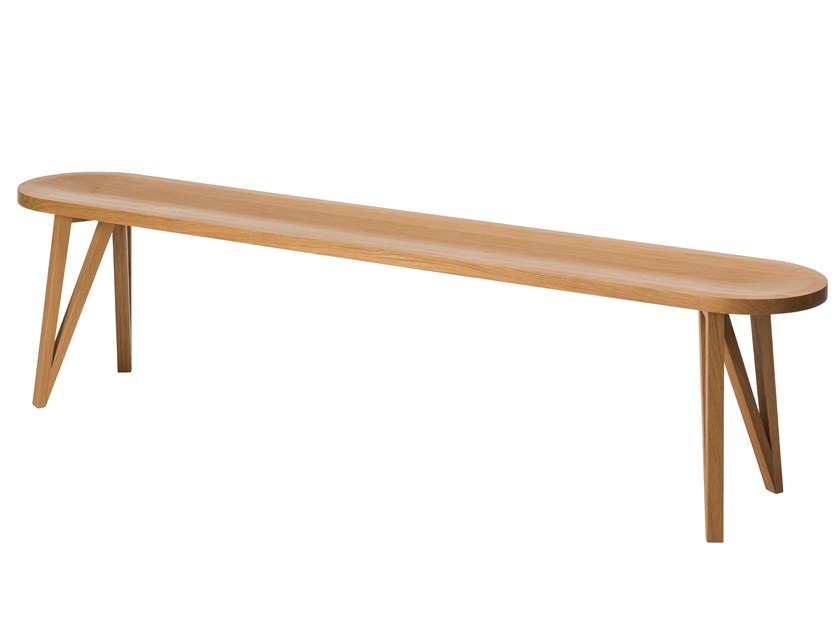 Oak bench JL8 FABER | Bench by LOEHR