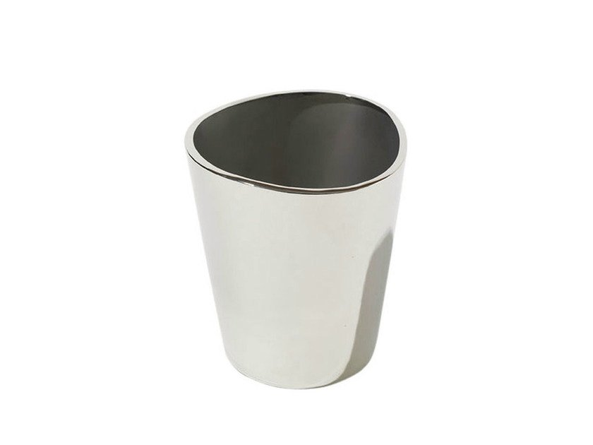 Stainless steel ice bucket JM24 | Ice bucket by Alessi