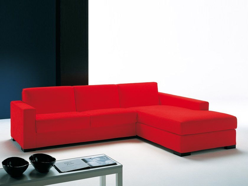 Corner sectional sofa bed