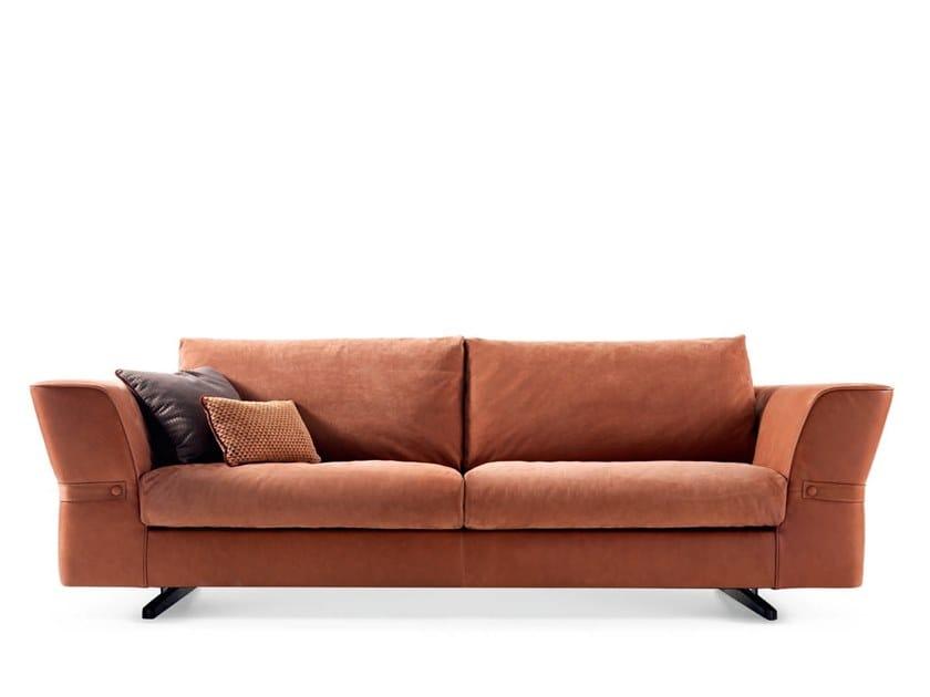 Leather sofa JOE - 720303 | Sofa by Grilli