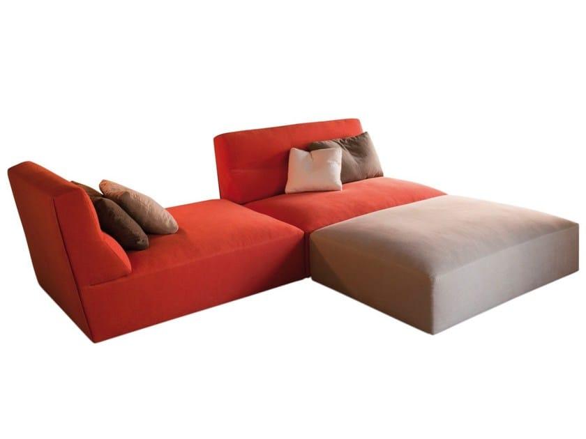 Sectional fabric sofa JOE | Fabric sofa by Verzelloni